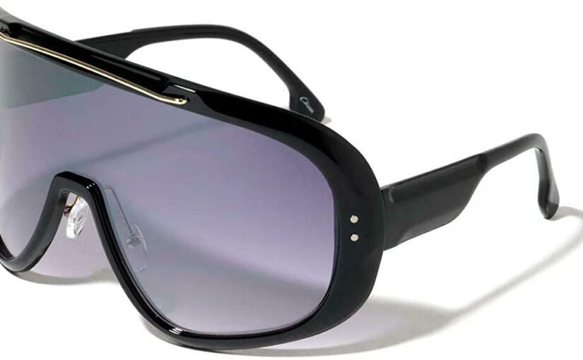 Futuristic Wrap-Around Styles Eye Wear